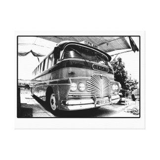 Malta Bus Canvas Print