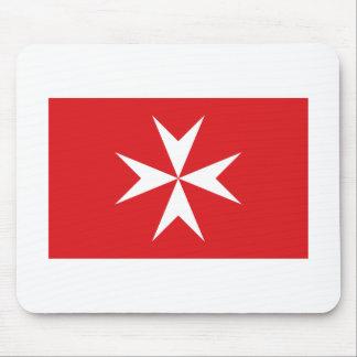 Malta civil ensign mouse mat