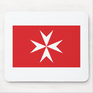 Malta civil ensign mouse mat