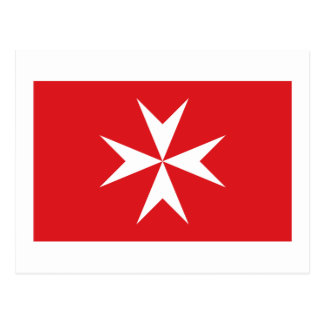 Malta civil ensign postcard