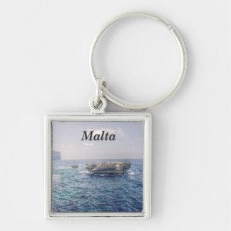 Malta Coast Key Ring