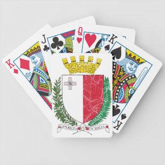 Malta Coat Of Arms Bicycle Playing Cards