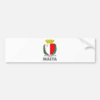 Malta Coat of Arms Bumper Sticker