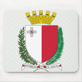 Malta Coat of Arms detail Mouse Mat