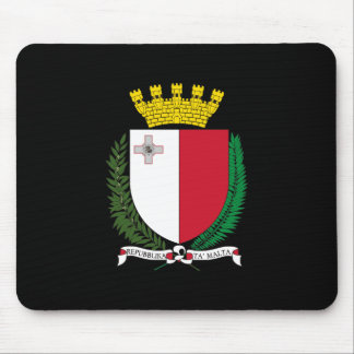 Malta Coat of Arms Mouse Mat