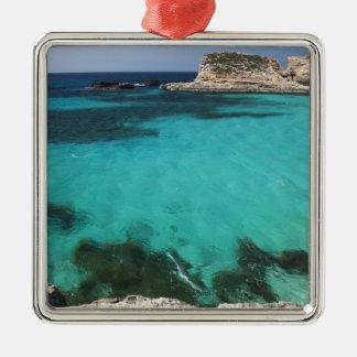 Malta, Comino Island, The Blue Lagoon Christmas Ornament