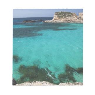 Malta, Comino Island, The Blue Lagoon Notepad