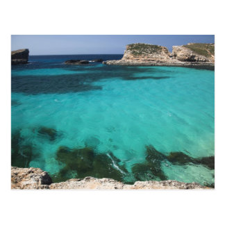Malta, Comino Island, The Blue Lagoon Postcard