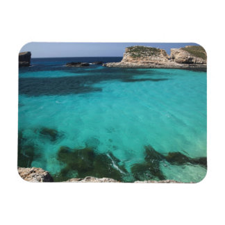 Malta, Comino Island, The Blue Lagoon Rectangular Photo Magnet