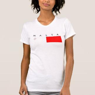Malta country flag nation symbol republic T-Shirt