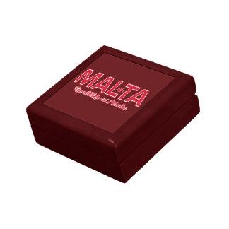 MALTA custom gift jewelry box