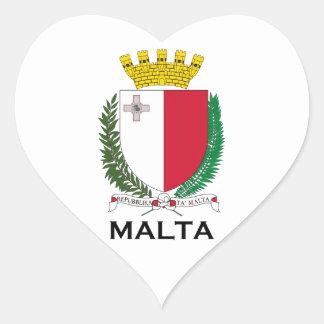 MALTA - emblem/coat of arms/symbol/flag Sticker