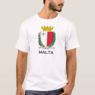 MALTA - emblem/coat of arms/symbol/flag T-Shirt