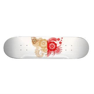 Malta Flag 21.3 Cm Mini Skateboard Deck