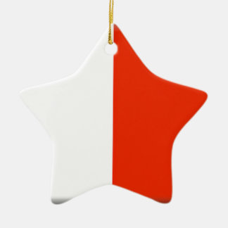 Malta Flag Christmas Ornament