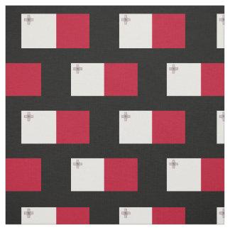 Malta flag fabric