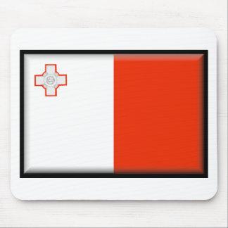 Malta Flag Mouse Mat