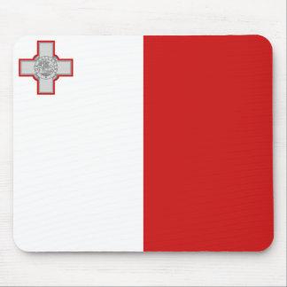 Malta Flag Mousepad