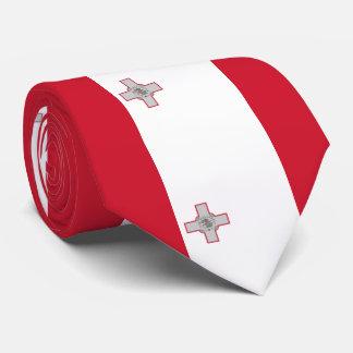 Malta flag tie