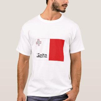 Malta flag tshirt