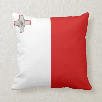 Malta Flag x Flag Pillow