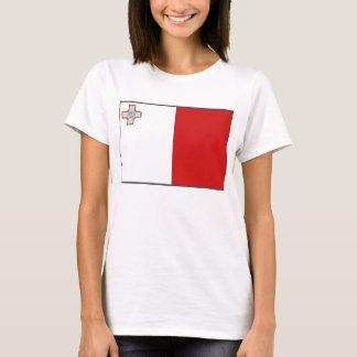 Malta Flag x Map T-Shirt