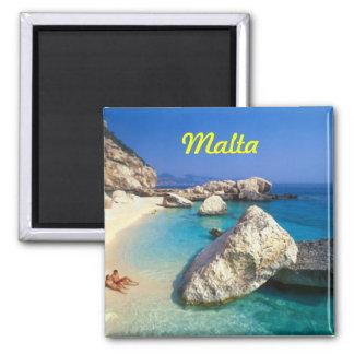 Malta fridge magnet