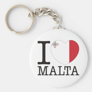 Malta Love v2 Keychain
