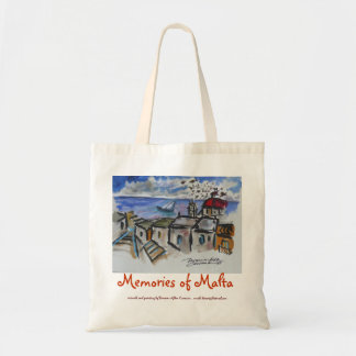 Malta Memories Tote Bag
