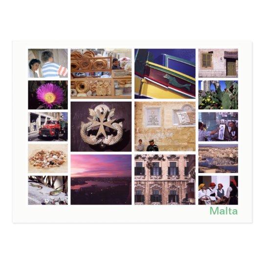 Malta multi-image 2 postcard
