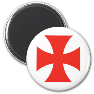 malta templar knights red cross religion symbol magnet