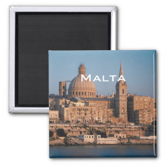 Malta Travel Souvenir Photo Fridge Magnet