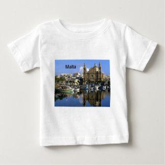 Malta Vallete Harbor (St.K) Baby T-Shirt