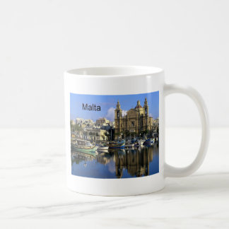 Malta Vallete Harbor (St.K) Coffee Mug