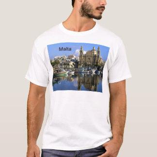Malta Vallete Harbor (St.K) T-Shirt
