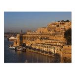 Malta, Valletta, harbour view from Lower Barrakka Post Cards