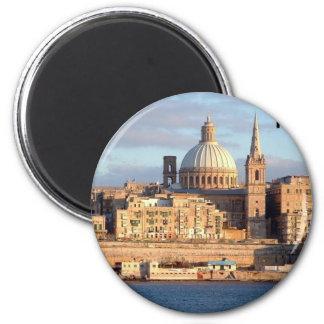 Malta Valletta St K Magnet