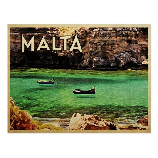 Malta Vintage Post Cards