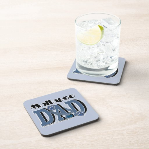 MaltaPoo DAD Drink Coasters