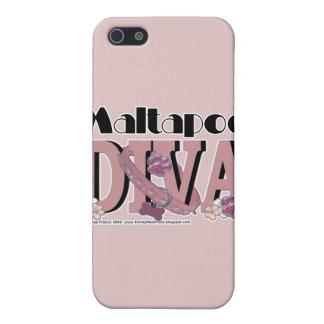 MaltaPoo DIVA iPhone 5 Cover