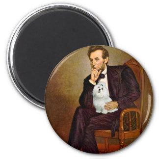 Maltese 7 - Lincoln Magnet