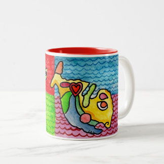Maltese Archipelago Two-Tone Coffee Mug