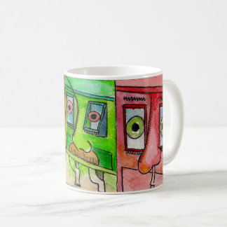 Maltese Balconies Coffee Mug