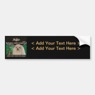 Maltese Brand – Organic Coffee Company Bumper Sticker