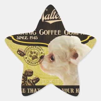 Maltese Brand – Organic Coffee Company Stickers