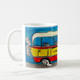 Maltese Bus Coffee Mug