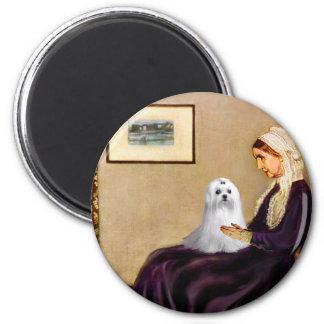 Maltese (C) - Whistlers Mother Magnet