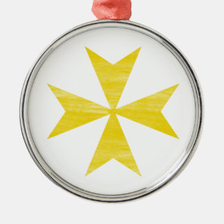 Maltese Cross Christmas Ornament