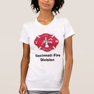 maltese-cross, Cincinnati Fire Division T-Shirt