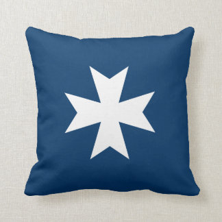 Maltese Cross Cushion
